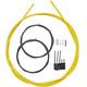 Shimano Road Schaltzug-Set polymerbeschichtet gelb